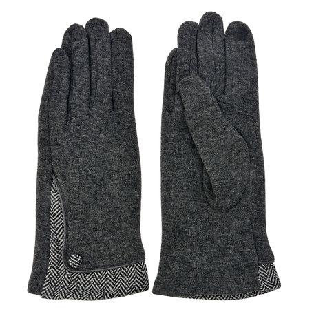 Handschoenen 8*24 cm Grijs | MLGL0013G | Clayre & Eef