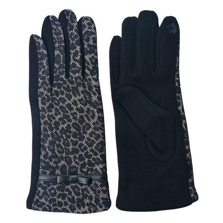 Handschoenen 8*24 cm Bruin | MLGL0019 | Clayre & Eef