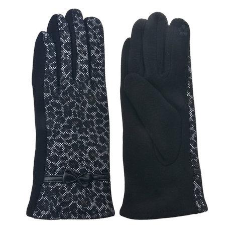 Handschoenen 8*24 cm Zwart | MLGL0020 | Clayre & Eef