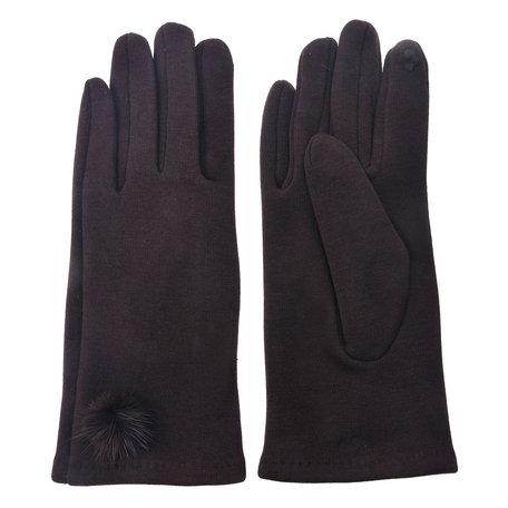 Handschoenen 8*24 cm Bruin | MLGL0029CH | Clayre & Eef
