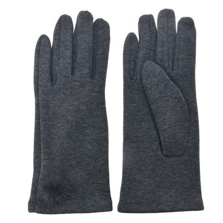 Handschoenen 8*24 cm Grijs | MLGL0029G | Clayre & Eef