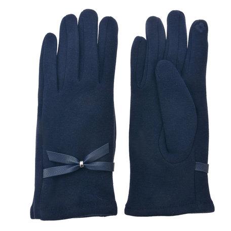 Handschoenen 8*24 cm Blauw | MLGL0031 | Clayre & Eef