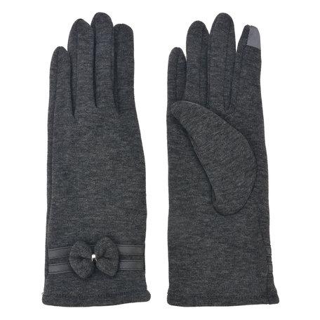 Handschoenen 8*24 cm Grijs | MLGL0032G | Clayre & Eef