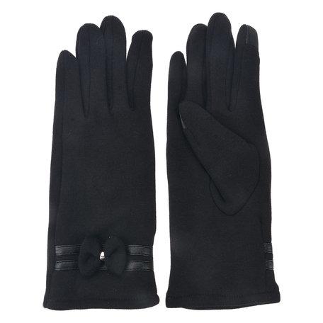 Handschoenen 8*24 cm Zwart | MLGL0032Z | Clayre & Eef