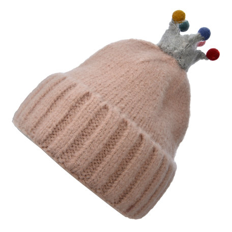 Kindermuts  Roze   MLHAT0105P   Clayre & Eef