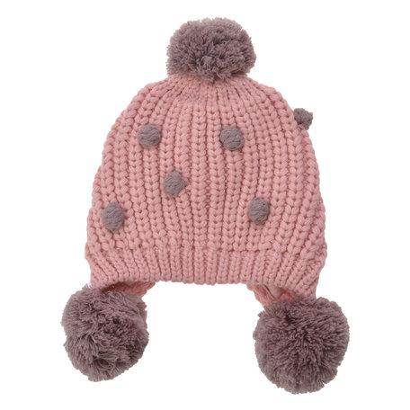 Kindermuts  Roze   MLLLHA0011P   Clayre & Eef