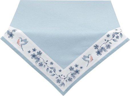 Tafelkleed 100*100 cm Blauw | EBI01 | Clayre & Eef