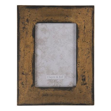 Fotolijst 17*1*22 cm / 10*15 cm Bruin | 2F0679 | Clayre & Eef