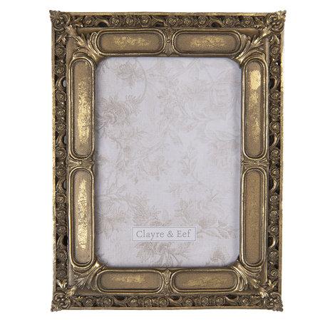 Fotolijst 19*1*24 cm / 13*18 cm Bruin | 2F0688 | Clayre & Eef