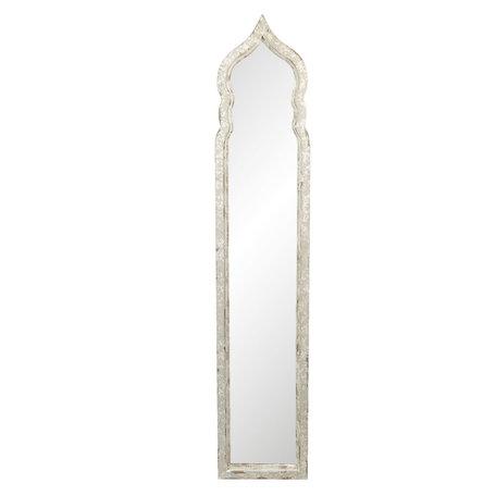 Spiegel 30*4*150 cm Beige   52S197   Clayre & Eef