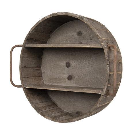 Wandrek 63*20*57 cm Bruin | 5H0451 | Clayre & Eef