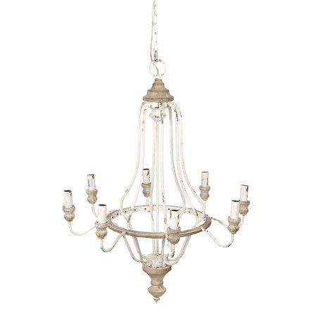 Hanglamp 67*67*90 cm Bruin | 5LMP289 | Clayre & Eef