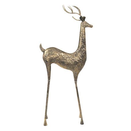 Decoratie hert 55*21*132 cm Bruin | 5Y0706 | Clayre & Eef