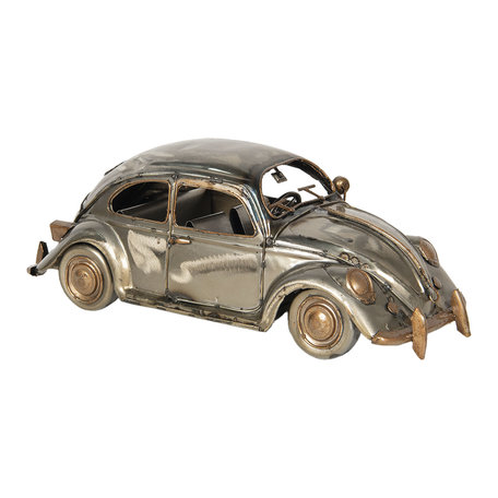 Model auto 29*10*9 cm Zilverkleurig   6Y3792   Clayre & Eef