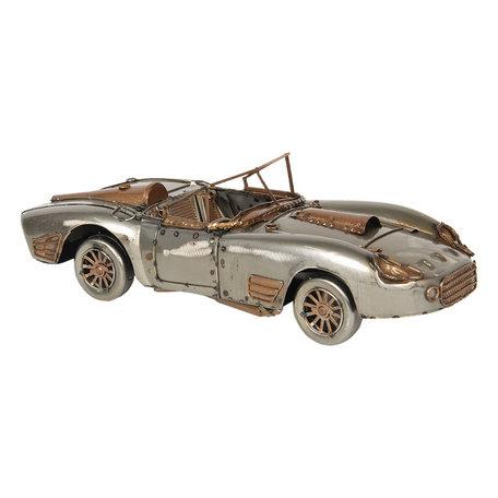 Model auto 31*11*9 cm Zilverkleurig | 6Y3793 | Clayre & Eef