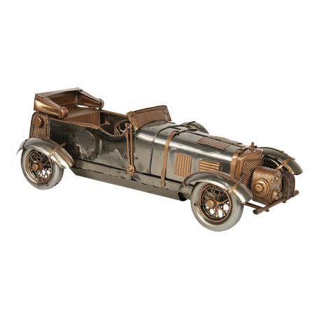 Model auto 33*13*10 cm Zilverkleurig   6Y3794   Clayre & Eef