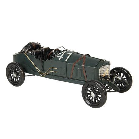 Model auto 31*12*11 cm Groen   6Y3797   Clayre & Eef