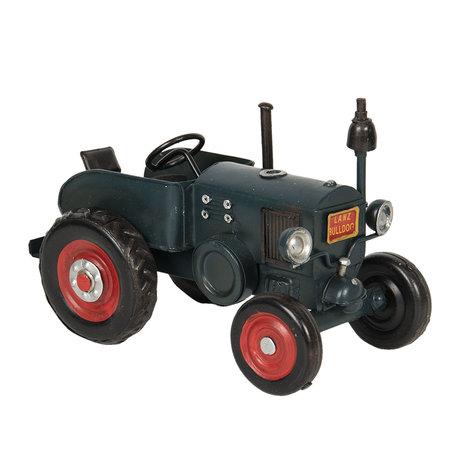 Lanz tractor model licentie 17*10*11 cm Groen   6Y3799   Clayre & Eef