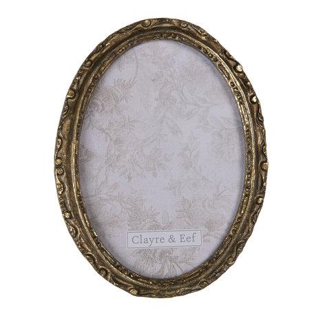 Fotolijst 15*2*20 cm / 13*18 cm Goudkleurig | 2F0683 | Clayre & Eef