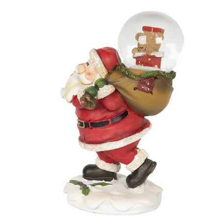 Decoratie kerstman 9*6*14 cm Multi | 64550 | Clayre & Eef