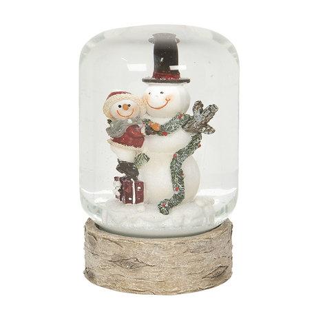 Sneeuwbol ø 6*10 cm Meerkleurig | 64556 | Clayre & Eef
