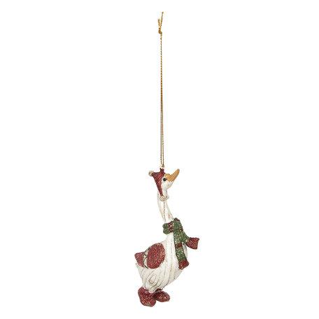 Decoratie hanger 6*3*11 cm Meerkleurig | 6PR2774 | Clayre & Eef