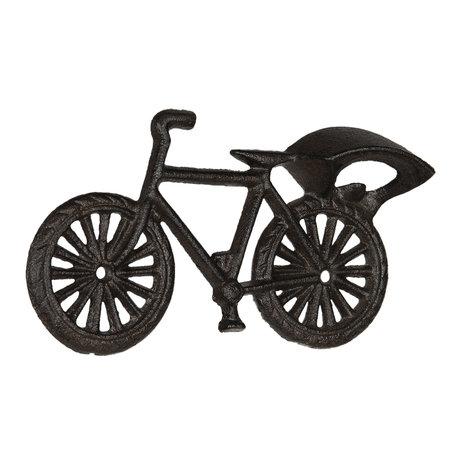 Flessenopener fiets 20*3*11 cm Bruin   6Y3896   Clayre & Eef