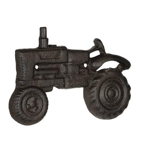 Flessenopener tractor 20*2*13 cm Bruin   6Y3898   Clayre & Eef