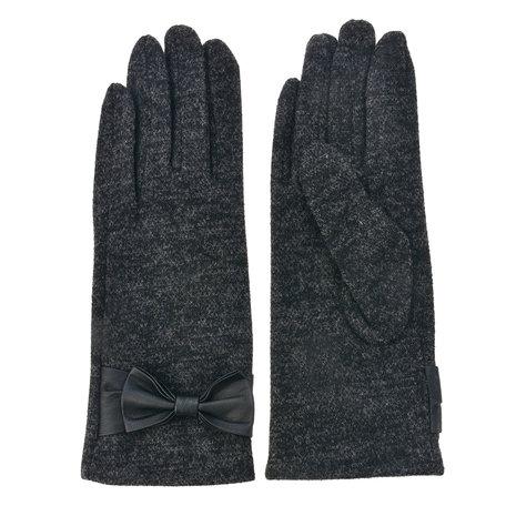 Handschoenen 8*24 cm Grijs | MLGL0011DG | Clayre & Eef