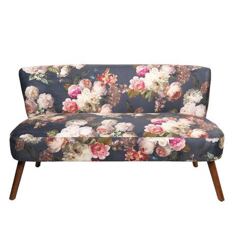 Loungebank 132*63*76 cm Meerkleurig | 50346 | Clayre & Eef