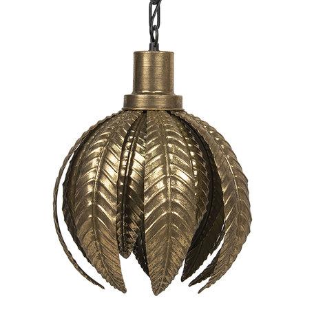 Hanglamp ø 33*43 cm Goudkleurig | 6LMP693 | Clayre & Eef