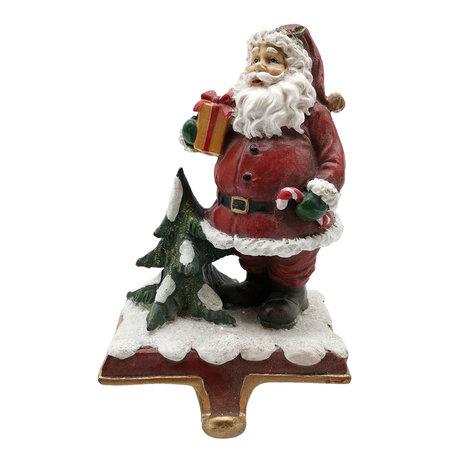 Decoratie kerstman 10*8*16 cm Multi | 6PR2743 | Clayre & Eef