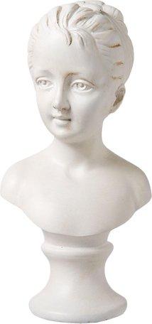 Decoratie buste 11x8x21 cm Wit | 6PR1111 | Clayre & Eef