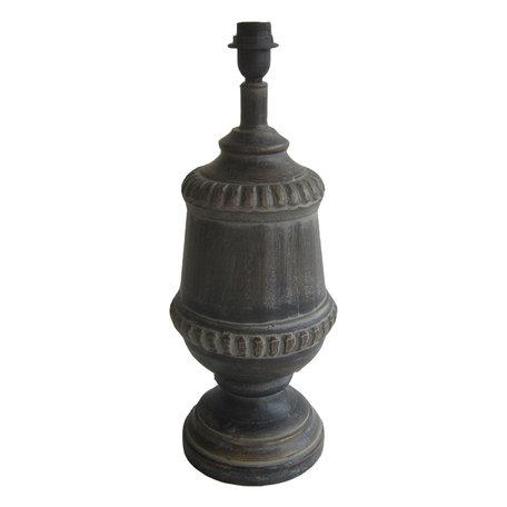 Lampenvoet ø 21*55 cm E27/max 1*60W Bruin | 6LMP667 | Clayre & Eef
