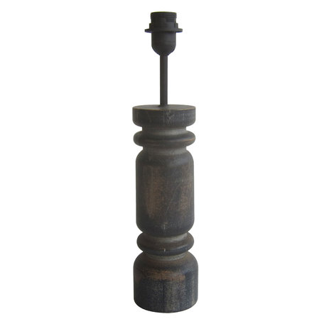 Lampenvoet ø 10*47 cm E27/max 1*60W Grijs | 6LMP675 | Clayre & Eef
