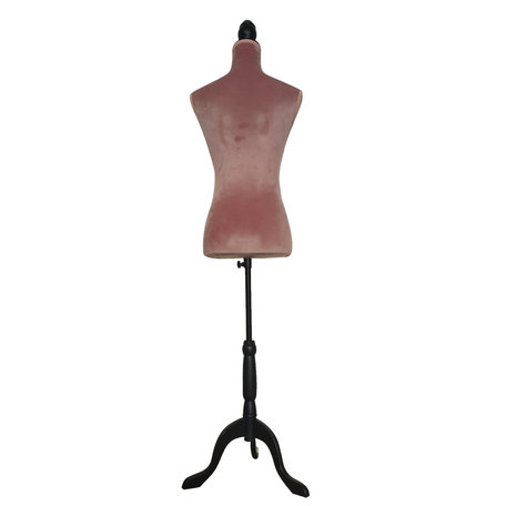 Decoratie paspop 38*40*164 cm Roze | BU0030P | Clayre & Eef