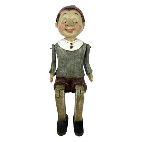 Decoratie figuur Pinokkio 6*11*17 cm Multi | 6PR2973 | Clayre & Eef