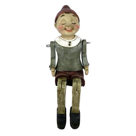 Decoratie figuur Pinokkio 8*13*22 cm Multi | 6PR2975 | Clayre & Eef