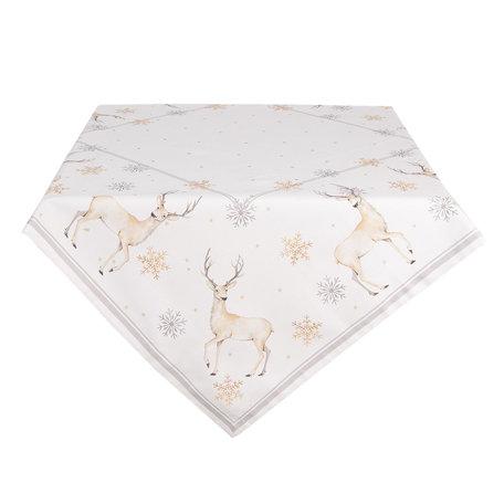 Tafelkleed 100*100 cm Meerkleurig | PCH01 | Clayre & Eef