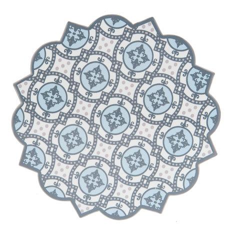 Pannenonderzetter 20*20 cm Meerkleurig | 6CE0980 | Clayre & Eef