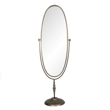 Spiegel 48*33*150 cm Goudkleurig | 52S214 | Clayre & Eef
