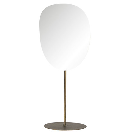 Spiegel 15*13*36 cm Grijs   62S192   Clayre & Eef