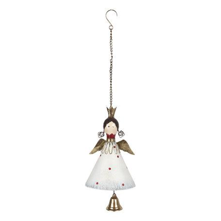 Decoratie hanger engel 14*1*20 cm Multi | 6Y4007 | Clayre & Eef
