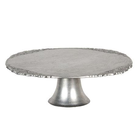 Taartstandaard (set van 6) ø 32*10 cm Zilverkleurig | 64598ZI | Clayre & Eef