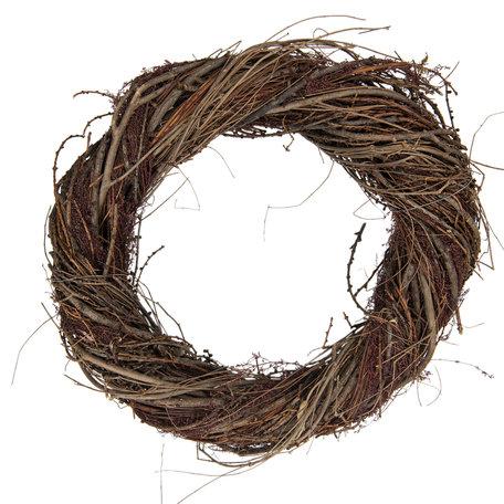 Decoratie krans ø 40*9 cm Meerkleurig | 6RO0479-40 | Clayre & Eef