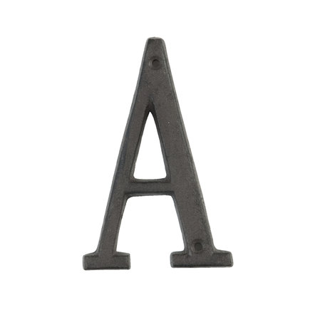 Letter A 13 cm Bruin | 6Y0840-A | Clayre & Eef
