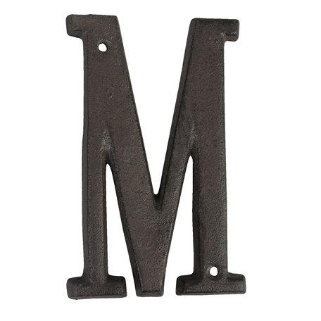 Letter M 13 cm Bruin | 6Y0840-M | Clayre & Eef