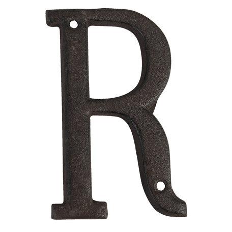 Letter R 13 cm Bruin | 6Y0840-R | Clayre & Eef