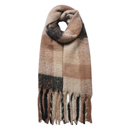 Sjaal 50*180 cm Beige   JZSC0478KH   Clayre & Eef