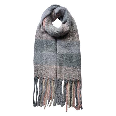 Sjaal 50*180 cm Roze   JZSC0478P   Clayre & Eef